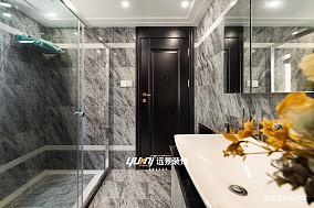 优美675平混搭别墅卫生间装饰图片别墅豪宅潮流混搭家装装修案例效果图