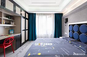 平混搭别墅卧室装修图片别墅豪宅潮流混搭家装装修案例效果图