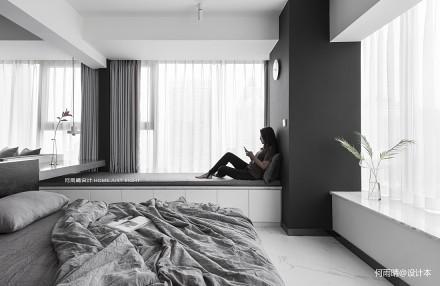 简洁29平现代小户型装修美图卧室