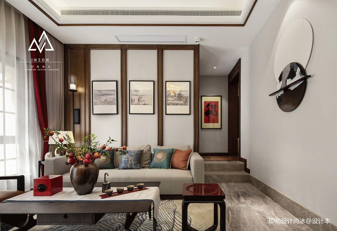 精致594平中式别墅客厅效果图客厅