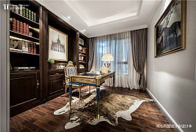 质朴293平法式样板间书房图片大全样板间欧式豪华家装装修案例效果图