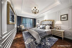 精致285平法式样板间卧室布置图样板间欧式豪华家装装修案例效果图