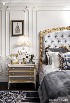 精致269平法式样板间卧室装修案例样板间欧式豪华家装装修案例效果图