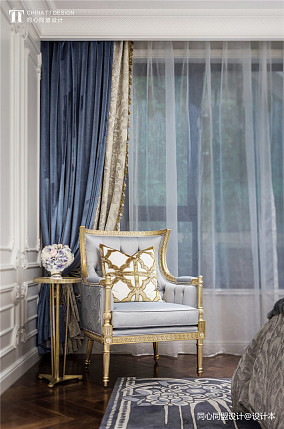 精选卧室装修设计效果图样板间欧式豪华家装装修案例效果图