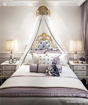 优雅313平法式样板间卧室效果图欣赏样板间欧式豪华家装装修案例效果图