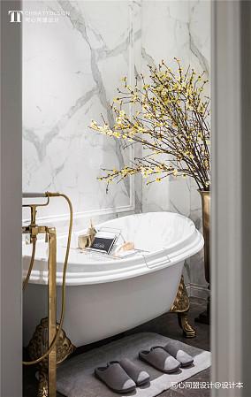 平法式样板间卫生间布置图样板间欧式豪华家装装修案例效果图