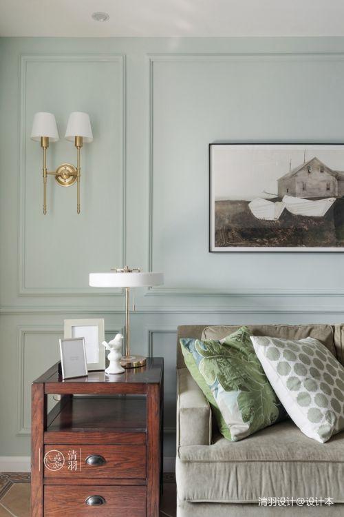 平混搭三居客厅装修效果图客厅床