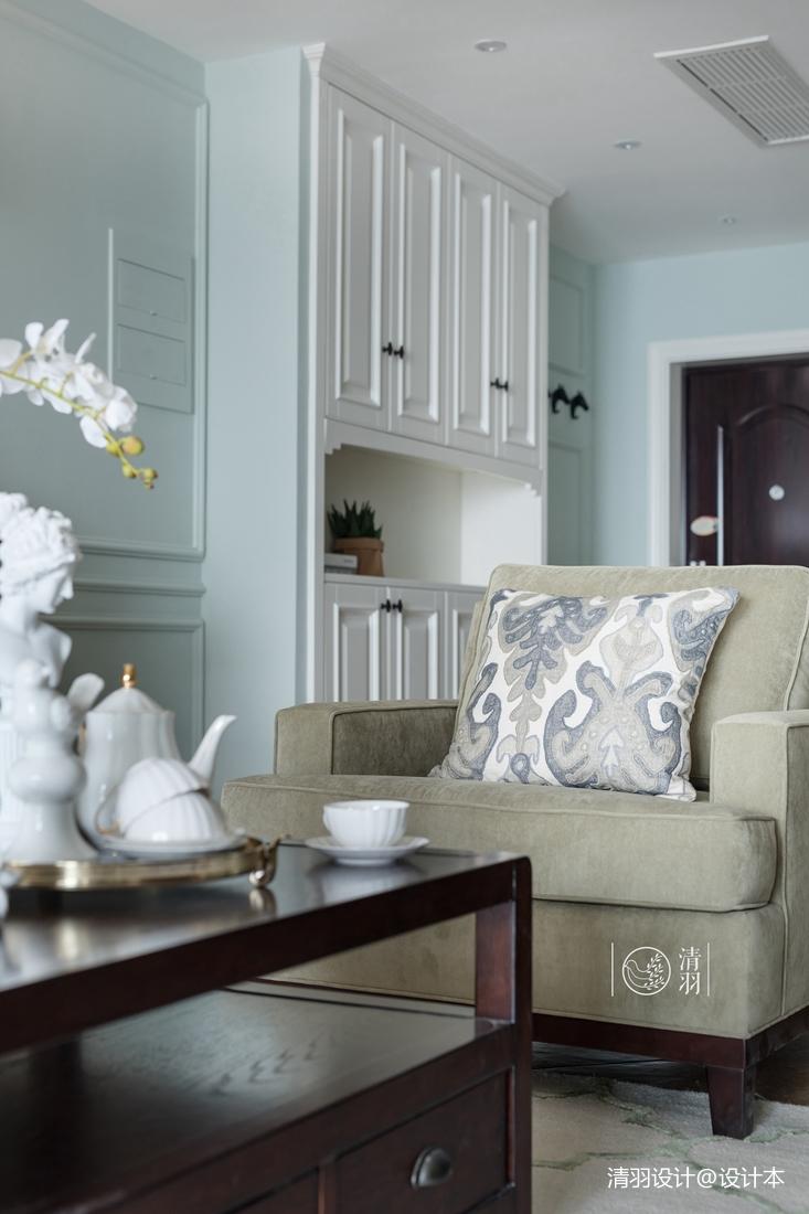 轻奢123平混搭三居客厅装修装饰图客厅