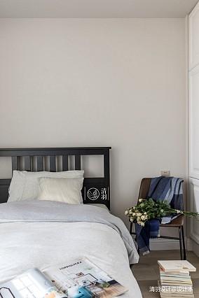 轻奢110平混搭三居卧室装饰图片