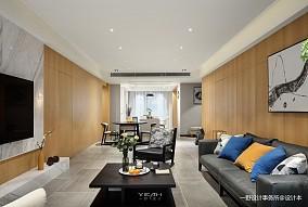 热门100平客厅三居现代装饰图