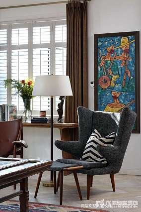 平混搭别墅客厅装修美图别墅豪宅其他家装装修案例效果图