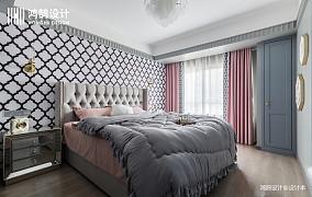 精美90平混搭二居卧室装修美图