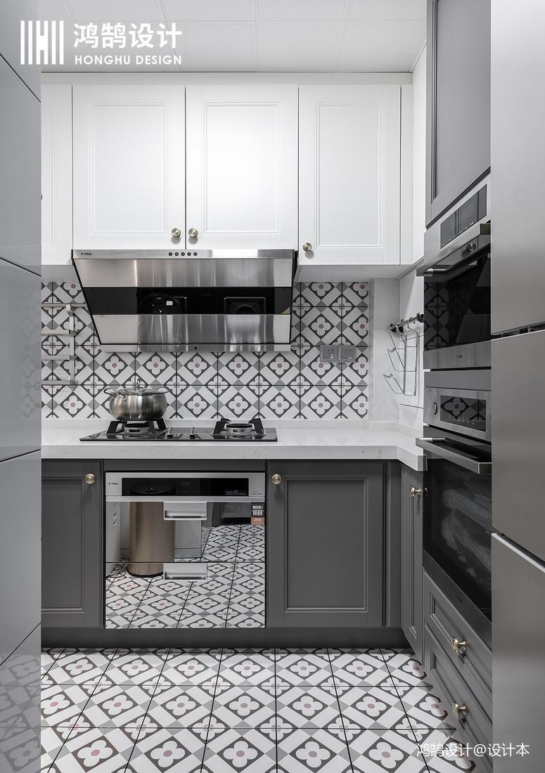 明亮62平混搭二居厨房图片欣赏餐厅潮流混搭厨房设计图片赏析