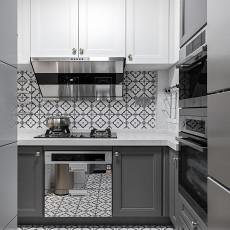 明亮62平混搭二居厨房图片欣赏