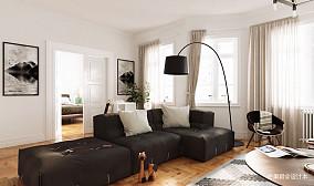 2018二居客厅装修效果图片
