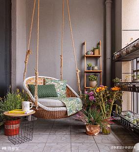 奢华美式阳台设计图阳台美式经典设计图片赏析