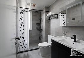 loft风卫浴设计图卫生间潮流混搭设计图片赏析