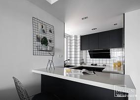 loft风厨房设计图餐厅潮流混搭设计图片赏析