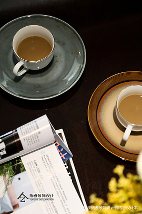 明亮76平美式三居客厅装修图片三居美式经典家装装修案例效果图