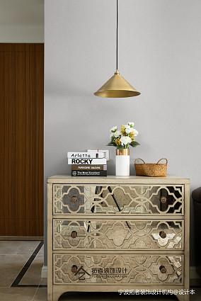 简洁78平美式三居客厅装修案例三居美式经典家装装修案例效果图