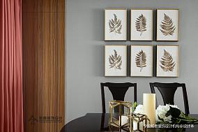 精美106平美式三居餐厅案例图三居美式经典家装装修案例效果图