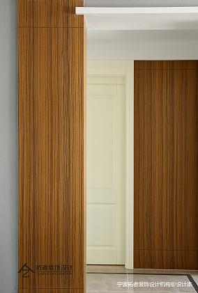 典雅95平美式三居过道装修美图三居美式经典家装装修案例效果图