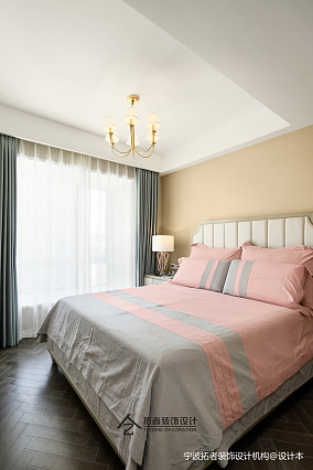 典雅123平美式三居卧室美图三居美式经典家装装修案例效果图