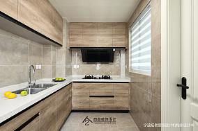 悠雅120平美式三居厨房设计美图三居美式经典家装装修案例效果图