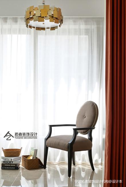大气118平美式三居阳台装饰美图阳台