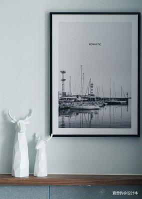精选面积75平北欧二居客厅效果图片大全