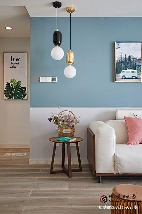 浪漫130平北欧三居客厅装修效果图
