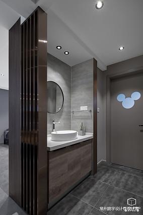 精美123平现代三居卫生间装修图片卫生间现代简约设计图片赏析