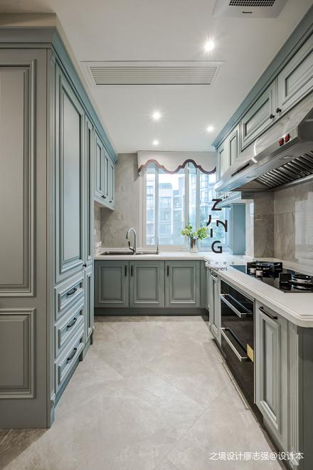 轻奢美式厨房设计图片餐厅