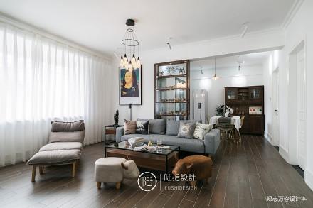温馨28平北欧小户型客厅实拍图