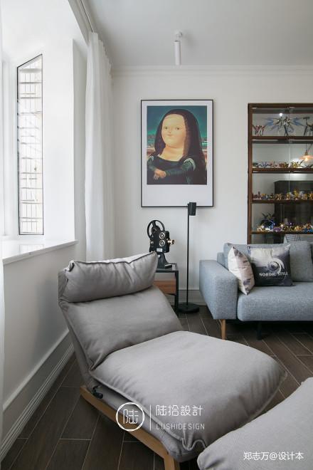 精致27平北欧小户型客厅装饰美图