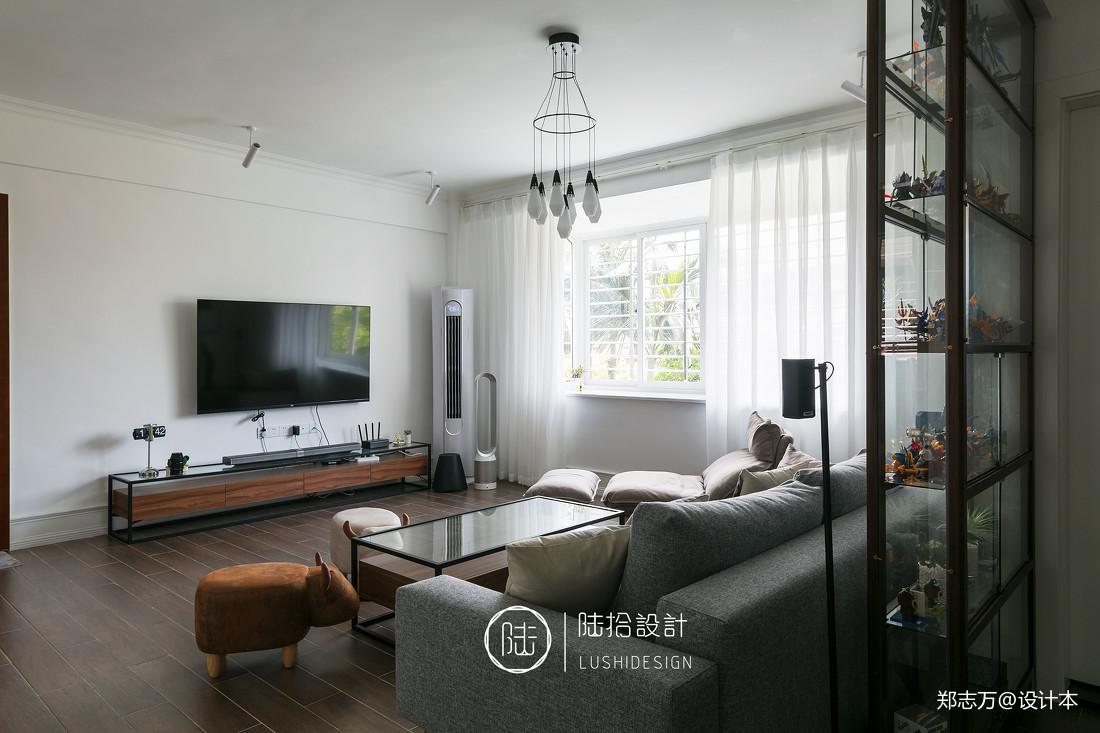 明亮21平北欧小户型客厅设计图客厅