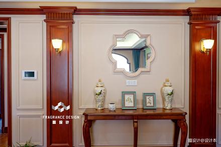 精选123平米美式别墅客厅设计效果图客厅3图