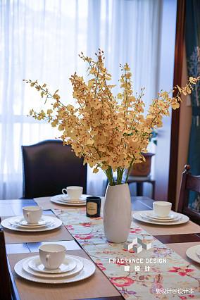 精美面积140平别墅餐厅美式装修欣赏图厨房美式经典设计图片赏析