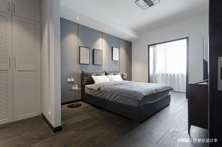 现代质感主卧室设计图卧室