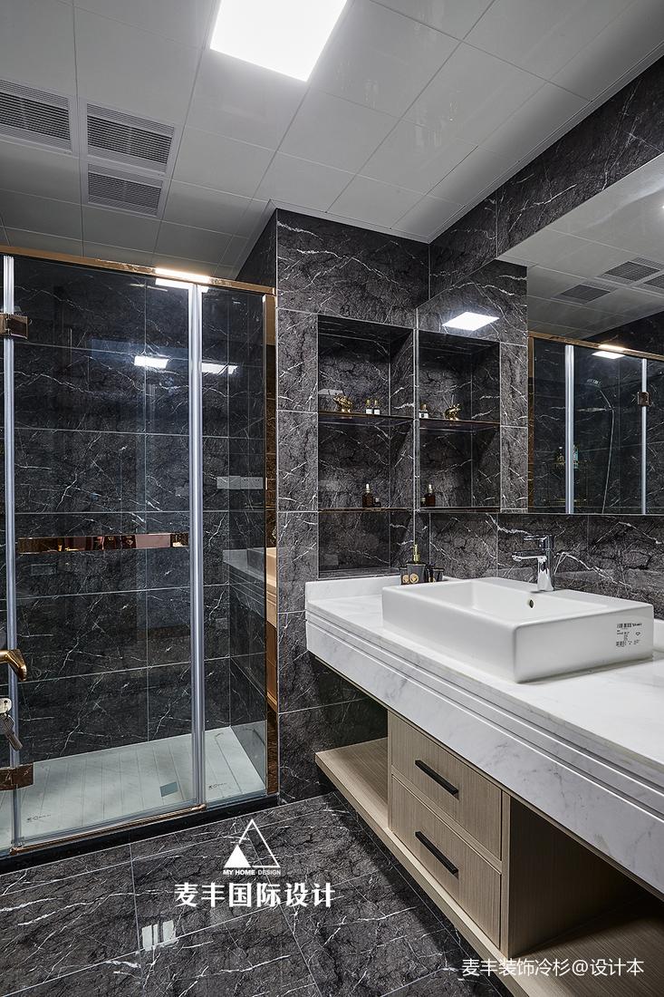 质朴116平混搭三居卫生间效果图片大全卫生间潮流混搭卫生间设计图片赏析