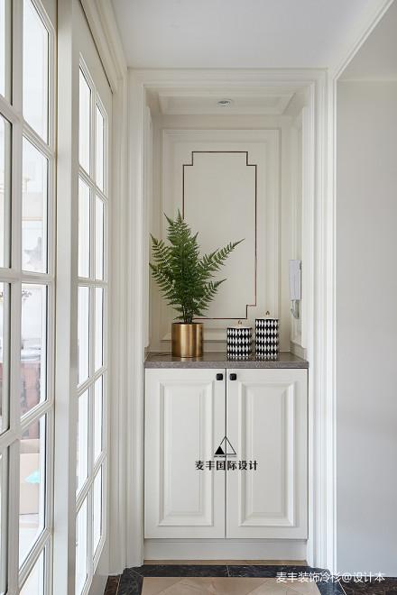 优雅91平美式四居阳台装饰美图阳台
