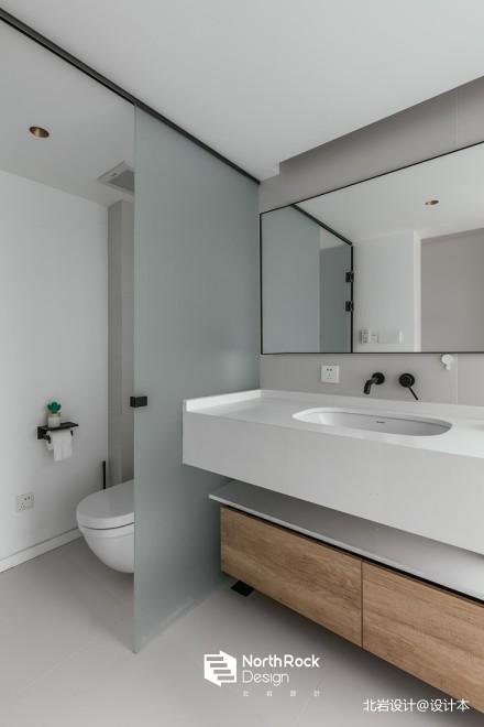 平中式三居卫生间装饰图片卫生间
