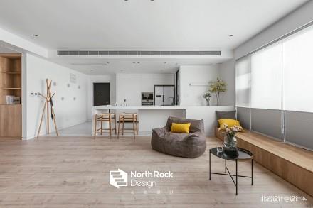典雅130平中式三居客厅实景图片客厅
