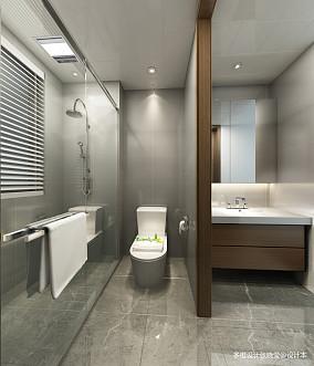 热门简欧二居卫生间装修设计效果图片大全