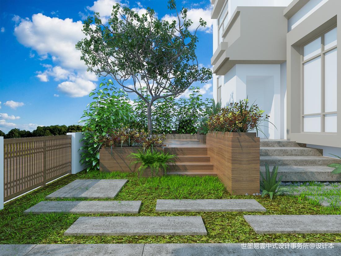 大气711平中式别墅花园案例图功能区中式现代功能区设计图片赏析