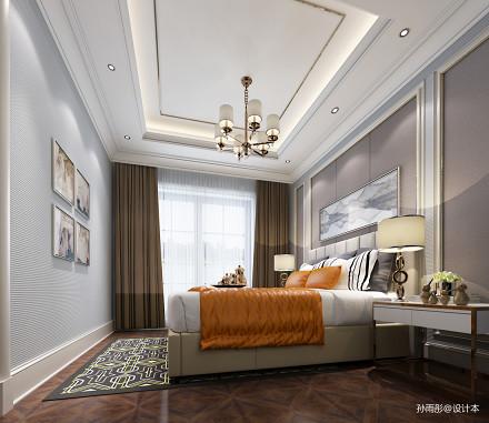 精美卧室美式装修设计效果图片卧室