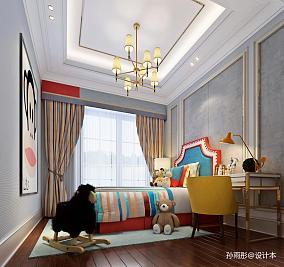 精美卧室美式设计效果图