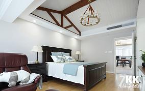 典雅210平美式复式卧室效果图片大全