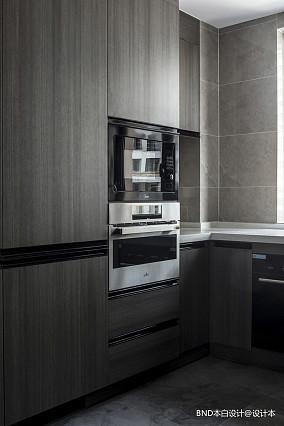 15平米白色简约厨房装修