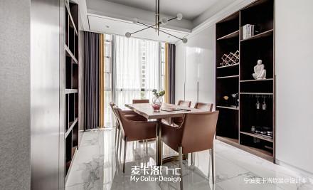 精美116平现代三居餐厅装修美图厨房